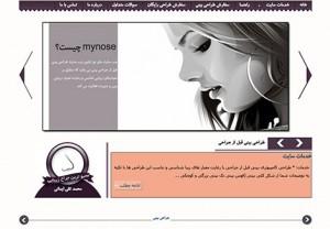 وب سایت طراحی بینی