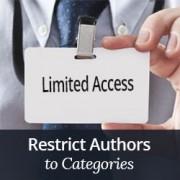 چگونگی محدود کردن نویسندگان به یک دسته خاص قالب وردپرس