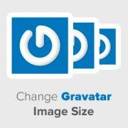 چگونه اندازه تصاویر GVATAR در قالب وردپرس را تغییر دهیم.