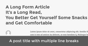 تقسیم پست و یا عنوان صفحه در وردپرس
