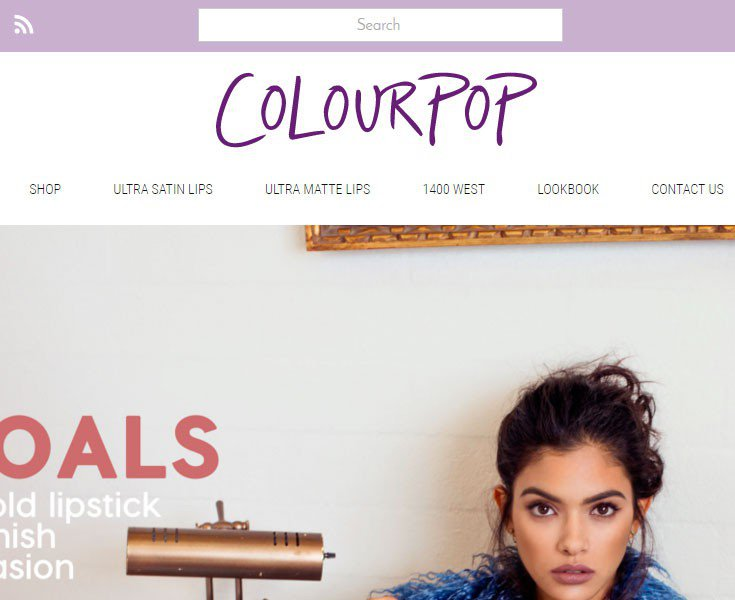 نمونه سایت با رنگ بنفش