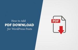 اضافه کردن فایل PDF