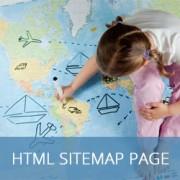 نحوه اضافه کردن یک صفحه HTML نقشه سایت در وردپرس