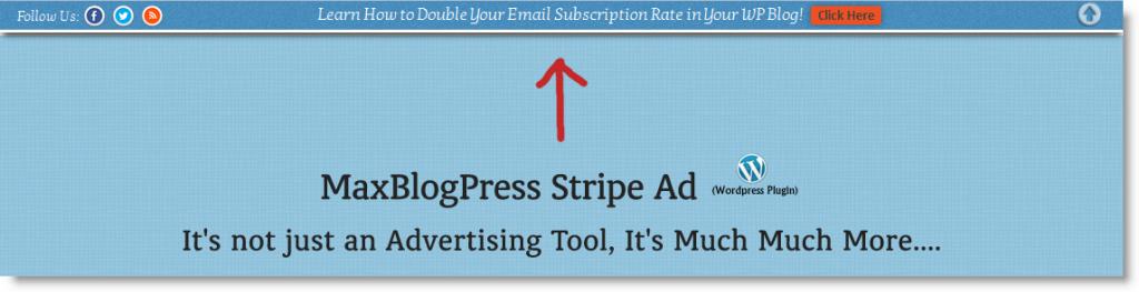 پلاگین stripe ads در وردپرس