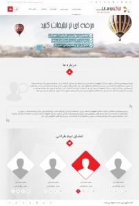 صفحه درباره ما نیک دیزاین
