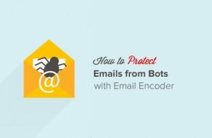 محافظت از ایمیل در برابر spam با استفاده از کد گزاری ایمیل در قالب وردپرس