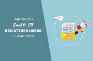 چگونگی ارسال ایمیل به تمام کاربران ثبت نام شده سایت با طراحی قالب وردپرس(ارسال ایمیل انبوه)