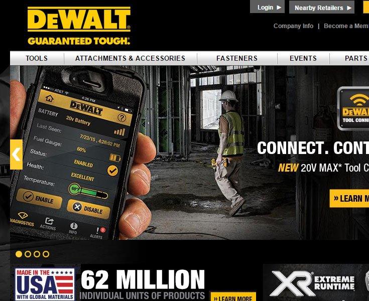 نمونه سایت با طرح سیاه و زرد