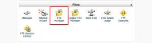 حذف فایل های وبلاگ