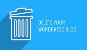 حذف وبلاگ با طراحی قالب وردپرس
