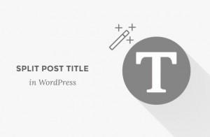 چگونگی تقسیم پست و یا عنوان صفحه ها در طراحی قالب وردپرس