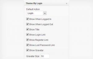 اضافه کردن فرم ثبت نام و ورود در وردپرس