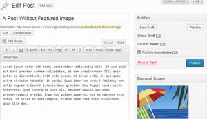 تنظیمات پلاگین عکس های ویژه برای پست ها در وردرپس