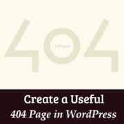 خطای 404 در وردپرس