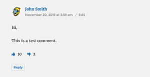 نصب پلاگین Comments Like Dislike در وردپرس