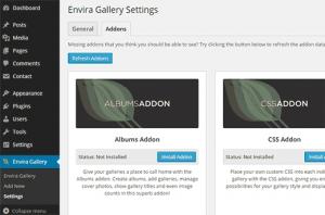 ایجاد یک گالری عکس در وردپرس