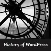تاریخچه وردپرس