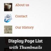 نمایش صفحه فهرست با ریز عکسها در وردپرس