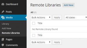 افزونه Remote Media Libraries در وردپرس