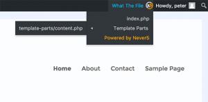 لیست فایل های قالب در وردپرس