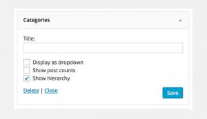 مزایای استفاده از دسته ها و رده ها بر روی SEO سایت وردپرس