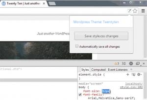 ضمیمه WordPress Style Editor