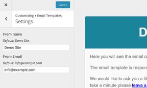پیکربندی تنظیمات پلاگین Email Templates