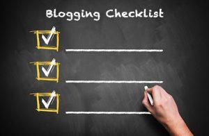 ایجاد ایجاد یک چک لیست وبلاگ نویسی در وردپرس