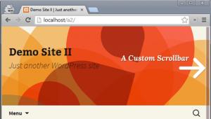 پلاگین Dewdrop Custom Scrollbar در وردپرس