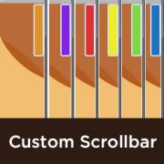 اضافه کردن یک Scrollbar سفارشی در وردپرس