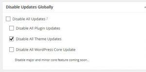 پلاگینDisable Updates Manager plugin در وردپرس