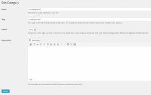 اضافه کردن ویرایشگر TinyMCE برای رده توضیحات