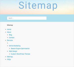 اضافه کردن یک  نقشه HTML به سایت وردپرس