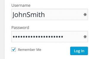 ذخیره نام شما درسایت  وردپرس