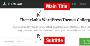 اضافه کردن زیرنویس برای پست ها و صفحات در وردپرس