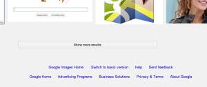 برگه بندی بی نهایت ترکیبی در جستجوی تصاویر گوگل