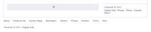 لود خودکار فید خبرهای فیسبوک فوتر رو از دسترس خارج میکنه.