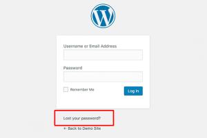 بازنویسی رمز عبور در وردپرس