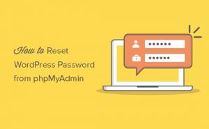 نحوه بازنویسی رمز عبور در وردپرس از طریق phpMyAdmin